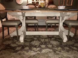 oak joist dining room table atlanta specialty woods