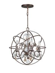 Chandelier Accessories Gorgeous Wrought Iron Orb Chandelier Accessories Orb Chandelier