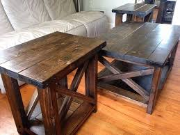 farmhouse coffee table set coffee table and end tables set fresh best 25 end table sets ideas