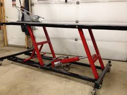 motorcycle lift table plans motorcycle lift table homemadetools net