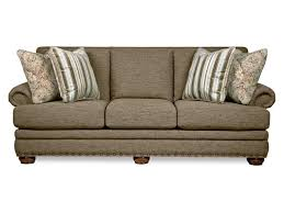 Couch Sizes by La Z Boy Brennan Traditional Sofa With Comfort Core Cushions And