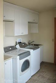 Laundry Cabinet With Hanging Rod White Laundry Cabinets Warwick Ny Rylex Custom Cabinetry