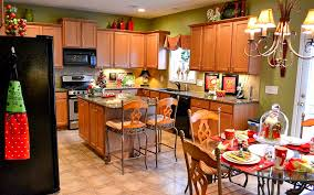 kitchen best christmas decorating ideas kitchen ideas for