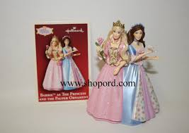 hallmark 2004 as the princess and the pauper ornament qxi8614