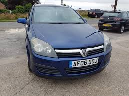 vauxhall astra 2006 used vauxhall astra life 2006 cars for sale motors co uk