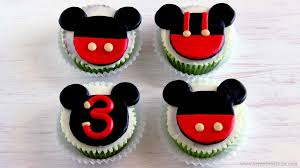 mickey mouse cupcakes mickey mouse cupcake and cake toppers happyfoods