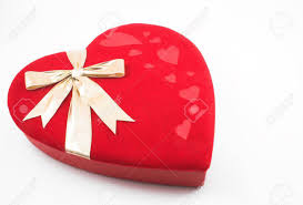 valentines heart candy a lone valentines heart candy box stock photo picture and