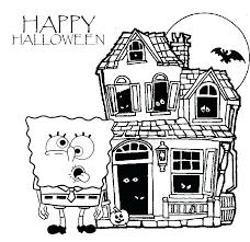 spongebob coloring pages nick jr sponge bob for kids u2013 vonsurroquen