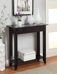 Hallway Accent Table Convenience Concepts Table Black Kitchen