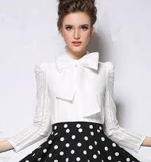 big bow blouse blouse with big bow at neck blouse styles