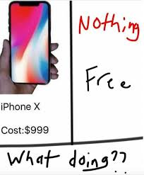 Make Memes On Iphone - iphone x price comparisons know your meme