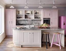 pink kitchen ideas kitchen kitchen color ideas pink gallery refrigerator oak cabinets