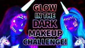 glow in the makeup glow in the unicorn makeup challenge wars