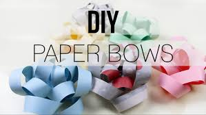 paper gift bows diy gift bow with paper newspaper
