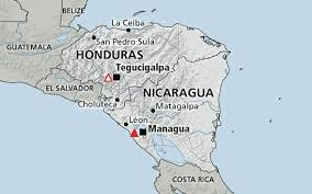 america map honduras central america nicaragua honduras