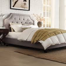 Candiac Upholstered Bedroom Set Platform Bed Amazing White Upholstered Bed On The Hunt For A New