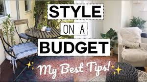 best tips to decorate on a budget home decor savings 101 youtube