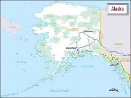 us map w alaska map of usa alaska large road map of alaska alaska large road map
