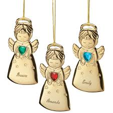 personalized angel christmas ornament angel ornament miles kimball