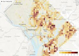 Word Cloud Map Of Washington by Homicides In D C How To Use The Interactive Map The Washington