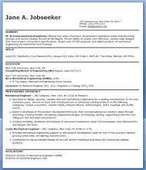 download licensed mechanical engineer sample resume