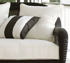 Replacement Outdoor Sofa Cushions Palmetto Outdoor Furniture Replacement Cushions Pottery Barn