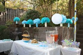 Backyard Baby Shower Ideas Plan Your Outdoor Baby Shower Decorations Properly Blogbeen