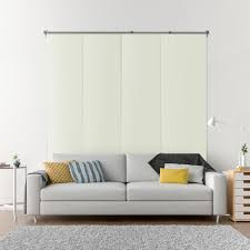 Levolor Panel Track Blinds by Textured Blinds Window Treatments The Home Depot