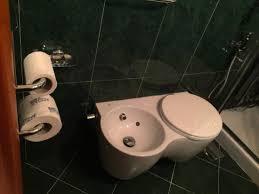 Combined Bidet Toilets Interesting Bidet Toilet Combination In Compact Bathroom Picture