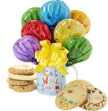 Cookie Bouquets Get Well Mug Cookie Bouquet