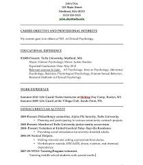 psychology resume template psychologist resume sle beautiful psychology resume template