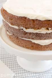 pumpkin churro cake recipe