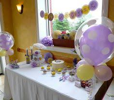 Baby Shower Decorations Yellow Personalized Lavender And Yellow Baby Shower By Thatpartychick