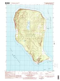 Topography Map Sleeping Bear Dunes Maps Npmaps Com Just Free Maps Period