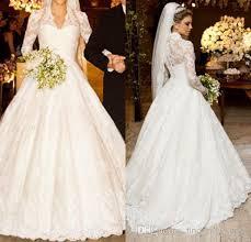 designers wedding dresses discount 2014 design royal lace wedding dresses sleeve