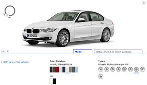 bmw build your car build your ideal 2012 3 series with bmw s configurator