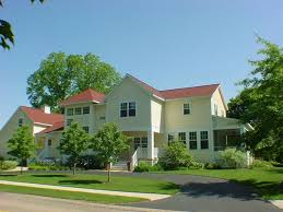 modern farmhouse in town walk everywhere homeaway saugatuck exterior view 3 levels 4500 square feet