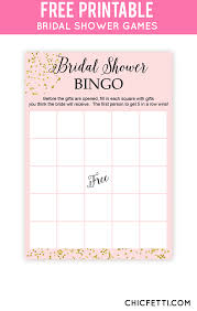 bridal shower gift bingo free printable bridal shower bingo gold bridal showers bridal