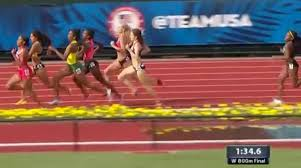 150 Meters Into Feet by Kate Grace Wins Insane Trials 800m Final Williams And Wilson Make