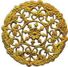 brass filigree findings catalog table of contents