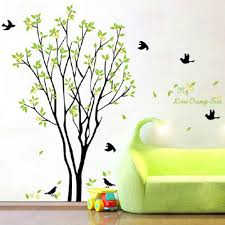 online get cheap huge wall aliexpress com alibaba group 60 90cm huge birds sing on the tree wall stickers decals decor art removable vinyl