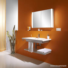 schneider 3 door mirrored bathroom cabinet with light shaver