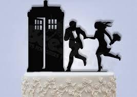 tardis cake topper decor hurry to the tardis cake topper 2379547 weddbook