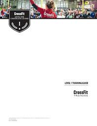 Crossfit Affiliate Map Crossfit Level 1 Certificate Course