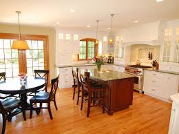 eat in kitchen furniture amish kitchen cabinets kitchen traditional with breakfast bar