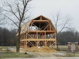 Gambrel Roof Pole Barn Plans 566 Best Barns Images On Pinterest Garage Ideas Pole Barns And