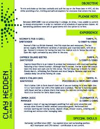 resume format no experience bartender resume sample no experience free resume example and creative bartender resume template http www resumecareer info creative no experience