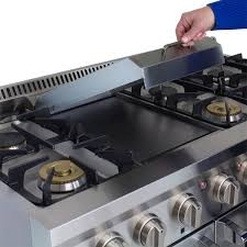 Cooktop With Griddle And Grill Aga Professional Gas Range With Rapidbake Convection