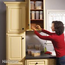 Home Repair How To Fix Kitchen Cabinets Family Handyman