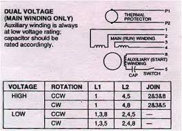 electric motor connections 3 phase 1 phase electric motors